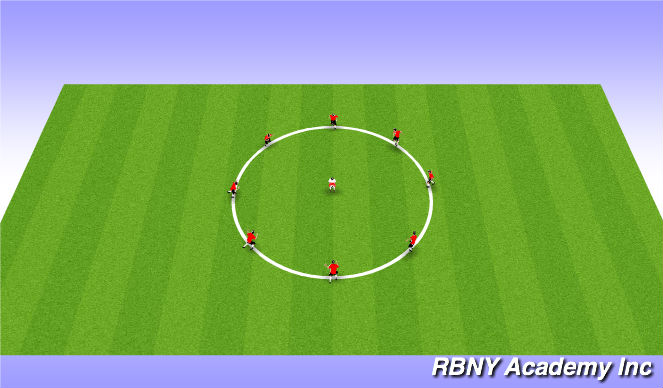 Football/Soccer Session Plan Drill (Colour): Head Catch