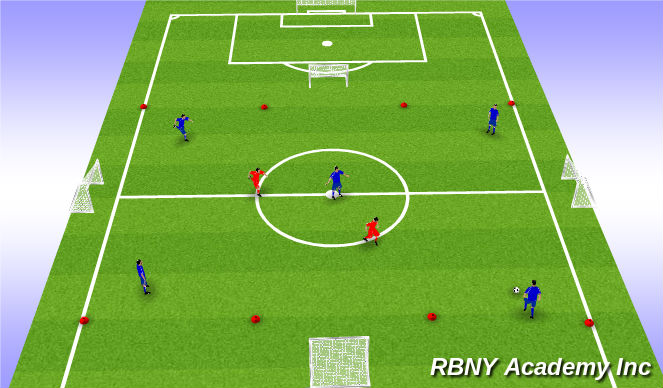 Football/Soccer Session Plan Drill (Colour): Liverpool Rondo