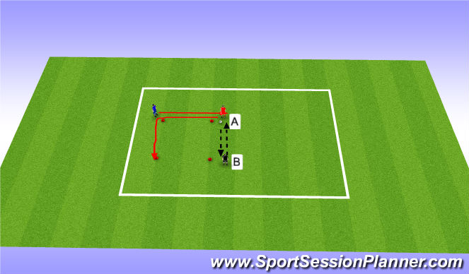 Football/Soccer Session Plan Drill (Colour): Part 1