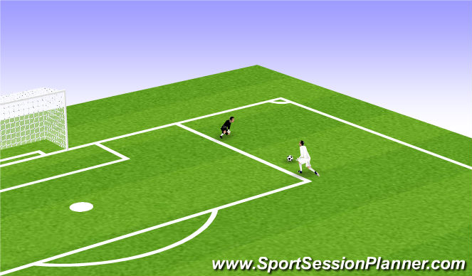 Football/Soccer Session Plan Drill (Colour): Animation 3