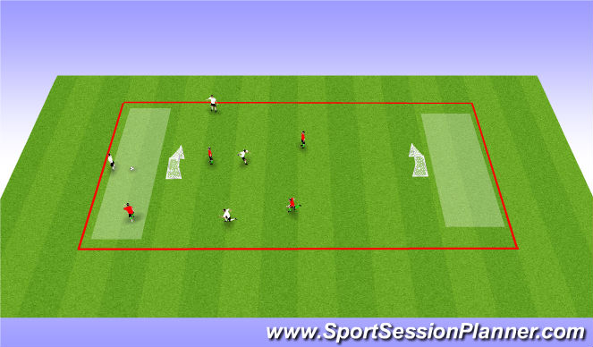 Football/Soccer Session Plan Drill (Colour): soccer Hockey