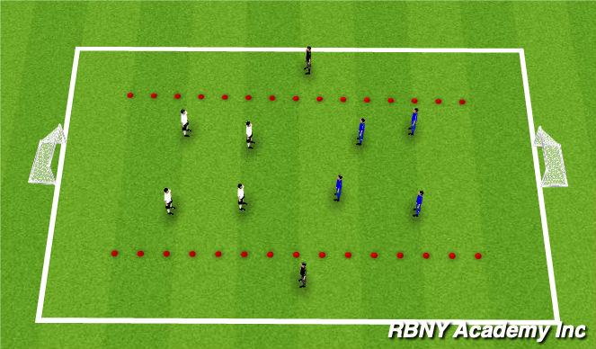 Football/Soccer Session Plan Drill (Colour): Main Theme2