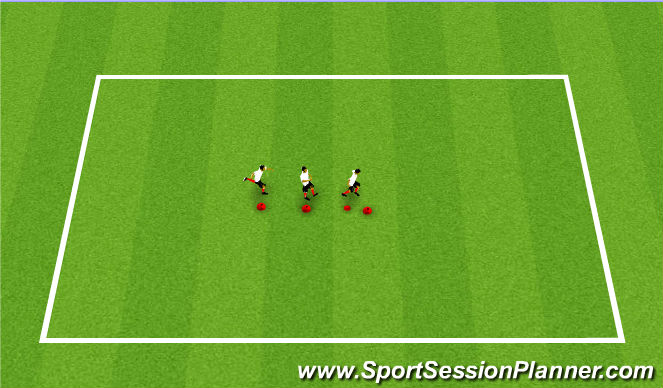 Football/Soccer Session Plan Drill (Colour): Team Building I