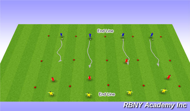 Football/Soccer Session Plan Drill (Colour): SS expanded
