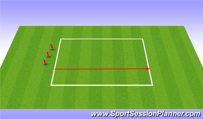 Football/Soccer Session Plan Drill (Colour): Bleep Test