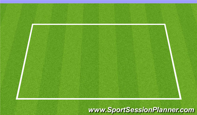 Football/Soccer Session Plan Drill (Colour): Warm up/ Rondo
