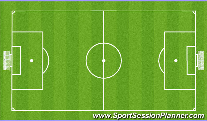 Football/Soccer Session Plan Drill (Colour): phase4