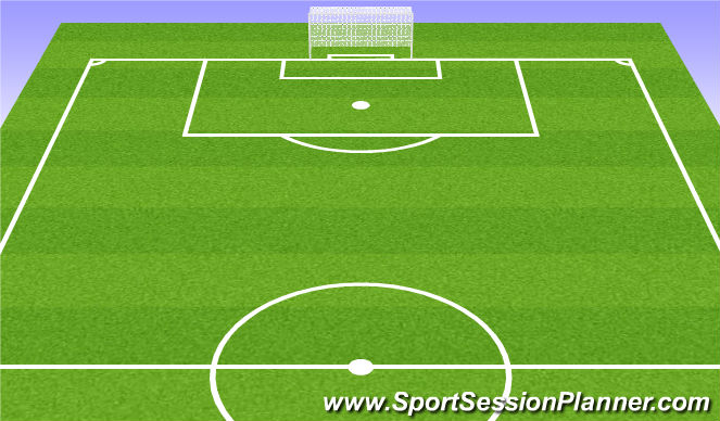 Football/Soccer Session Plan Drill (Colour): Homework/Cool Down