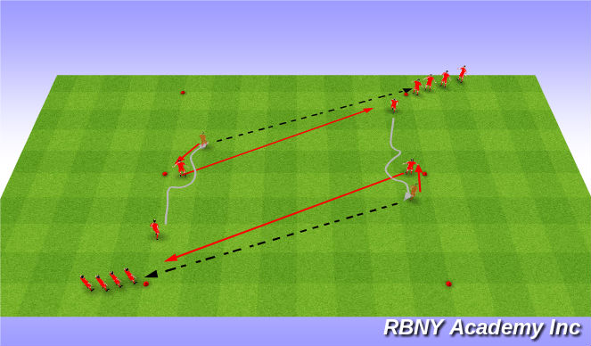 Football/Soccer Session Plan Drill (Colour): Main-Theme: I