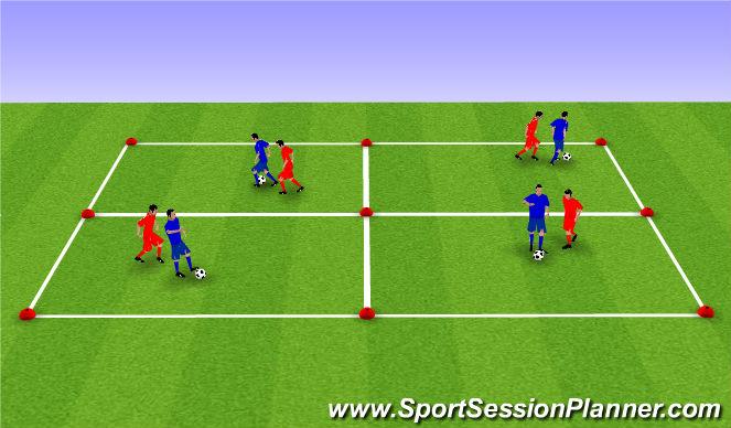 Football/Soccer Session Plan Drill (Colour): SHIELD (CAPTAIN AMERICA)