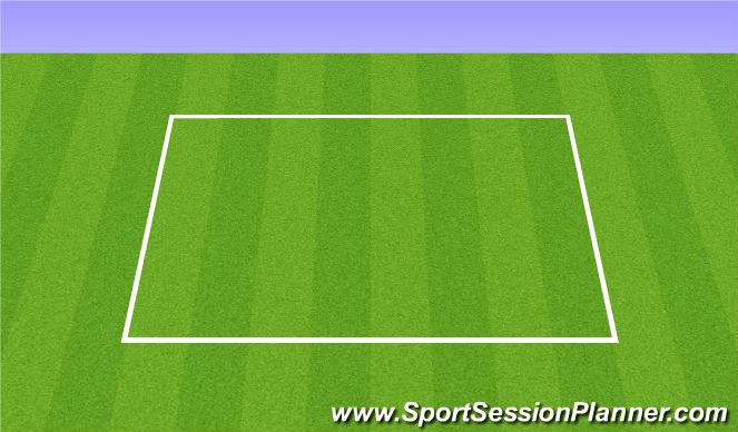 Football/Soccer Session Plan Drill (Colour): Warm up-5 min