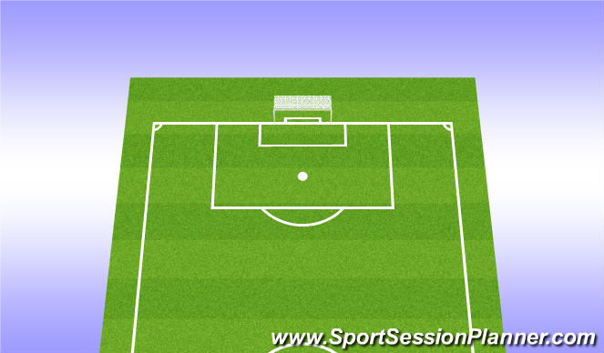 Football/Soccer Session Plan Drill (Colour): Attacking corner