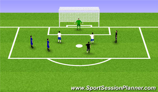 Football/Soccer Session Plan Drill (Colour): Mini World Cup