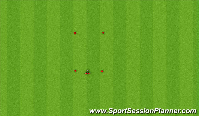 Football/Soccer Session Plan Drill (Colour): Body Control+ Juggling
