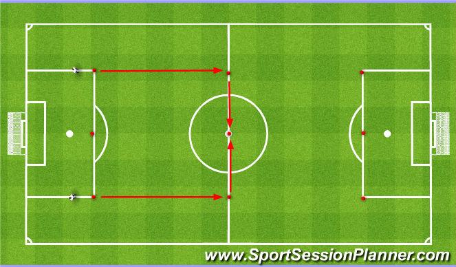 Football/Soccer Session Plan Drill (Colour): SAQ 4