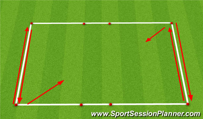 Football/Soccer Session Plan Drill (Colour): 1v1 Games