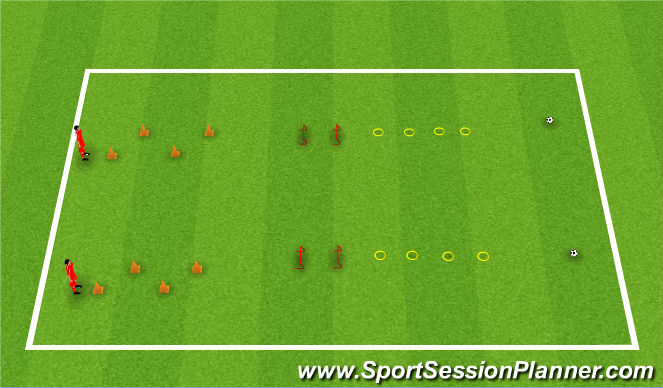 Football/Soccer Session Plan Drill (Colour): BCA