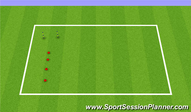 Football/Soccer Session Plan Drill (Colour): Team Work Focus