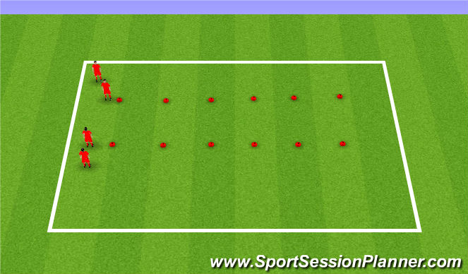 Football/Soccer Session Plan Drill (Colour): Challenge Focus