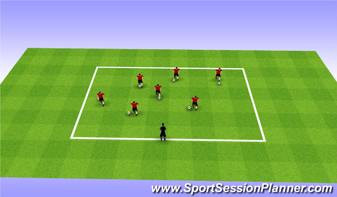 Football/Soccer Session Plan Drill (Colour): Fall ODP Week 8 1st session