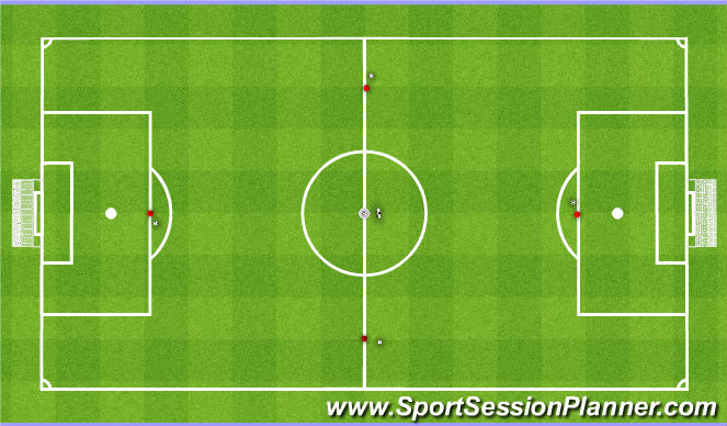 Football/Soccer Session Plan Drill (Colour): Activity 9&10
