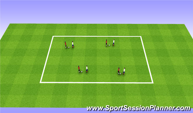 Football/Soccer Session Plan Drill (Colour): Fall ODP Week 11 1st Session