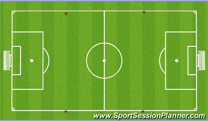 Football/Soccer Session Plan Drill (Colour): Global: 7v7