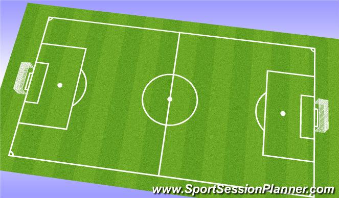 Football/Soccer Session Plan Drill (Colour): 9v9 Gane