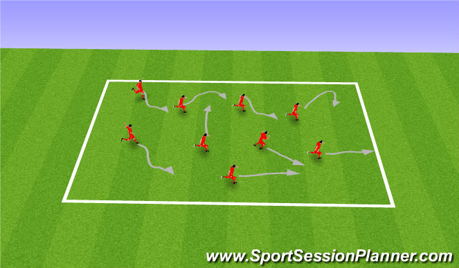 Football/Soccer Session Plan Drill (Colour): Can You?