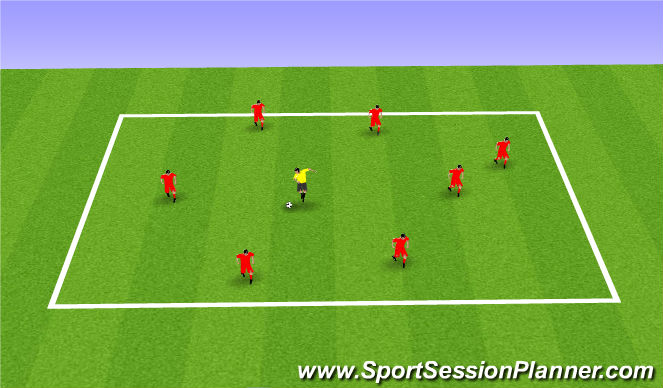 Football/Soccer Session Plan Drill (Colour): Freestyle juggling lifts