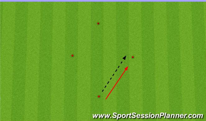 Football/Soccer Session Plan Drill (Colour): Diamond Passing
