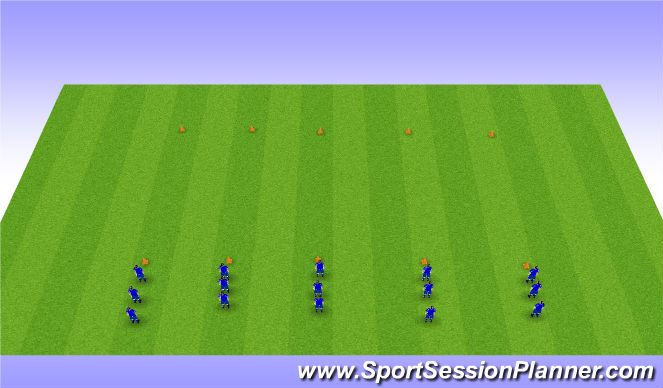 Football/Soccer Session Plan Drill (Colour): Team Biulding