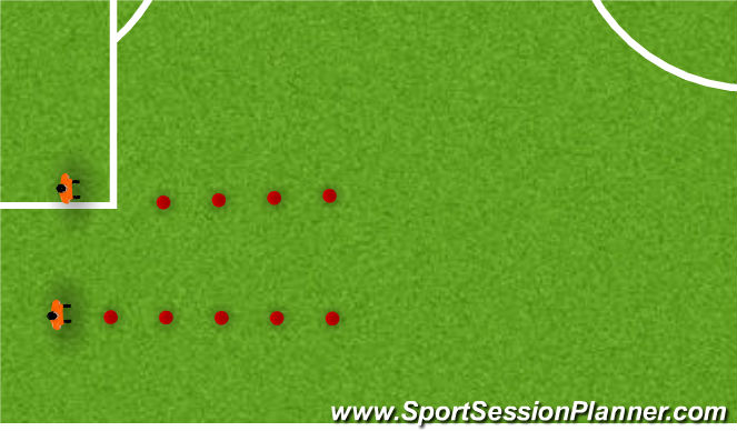 Football/Soccer Session Plan Drill (Colour): DYNAMIC WARM UP EVOLUTION 2