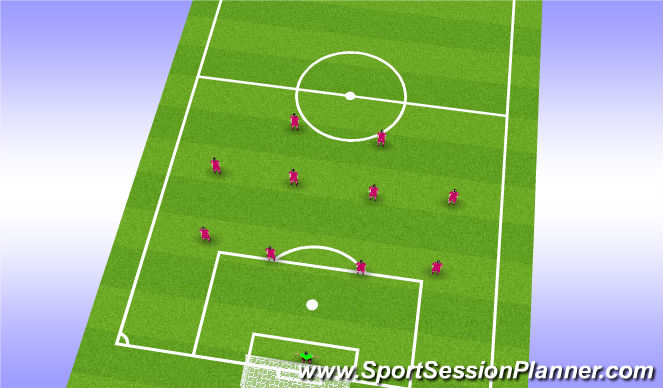 Football/Soccer Session Plan Drill (Colour): FORD Flat Neutral