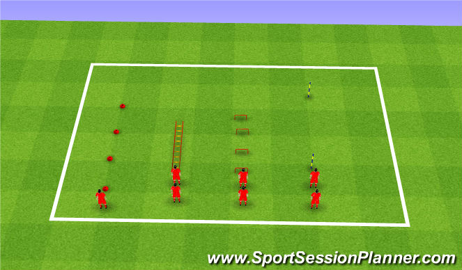 Football/Soccer Session Plan Drill (Colour): Sports Science
