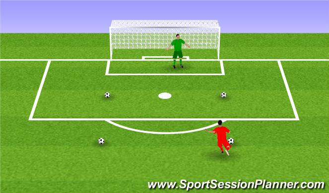 Football/Soccer Session Plan Drill (Colour): Dobitki.