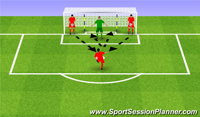 Football/Soccer Session Plan Drill (Colour): Woleje z bliska
