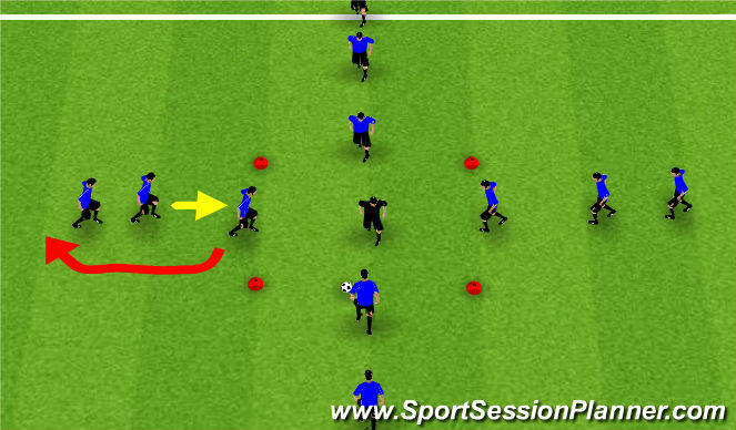 Football/Soccer Session Plan Drill (Colour): Valencia Rondo's