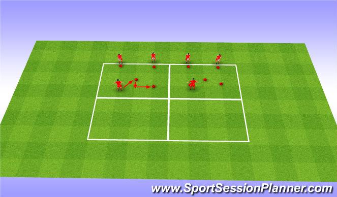 Football/Soccer Session Plan Drill (Colour): Coervor