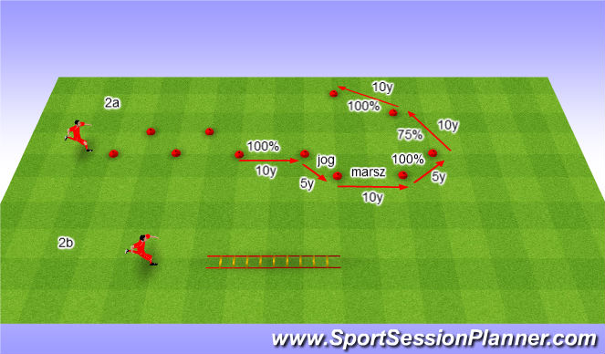 Football/Soccer Session Plan Drill (Colour): Rozgrzewka + Motoryka.