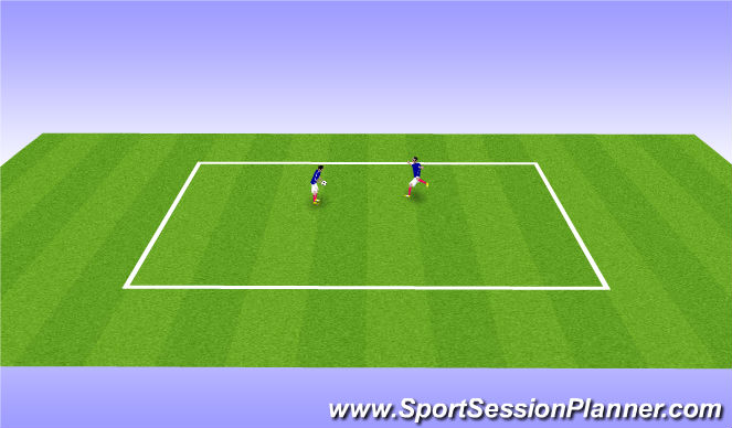 Football/Soccer Session Plan Drill (Colour): Daily Vitamins