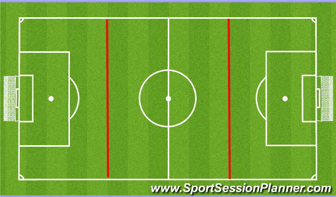 Football/Soccer Session Plan Drill (Colour): Zone Game