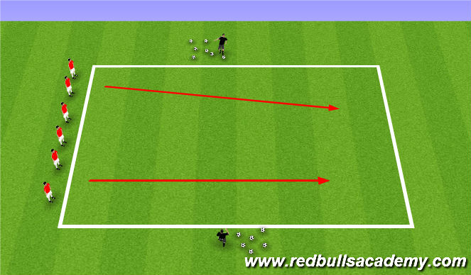 Football/Soccer Session Plan Drill (Colour): Haunting Houses