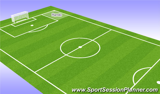 Football/Soccer Session Plan Drill (Colour): Phase 2: Rondo?