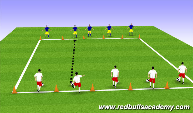 Football/Soccer Session Plan Drill (Colour): Game: Passing