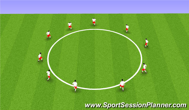 Football/Soccer Session Plan Drill (Colour): Moves Review