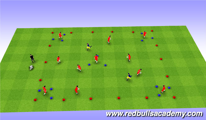 Football/Soccer Session Plan Drill (Colour): Main-theme-2