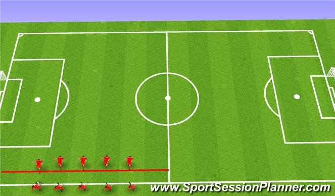 Football/Soccer Session Plan Drill (Colour): Short Pass/Receiving