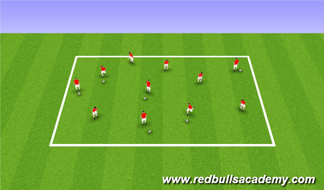 Football/Soccer Session Plan Drill (Colour): Coloring Easter eggs