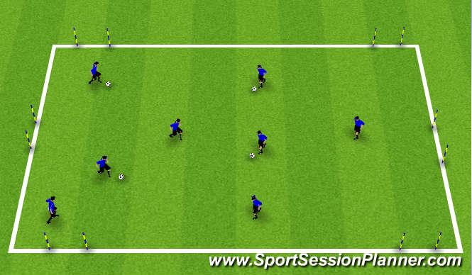 Football/Soccer: Dribbling (Technical: Dribbling and RWB ...